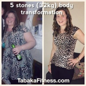 Alana's stunning 5 stones weight loss in less than 6 months!
