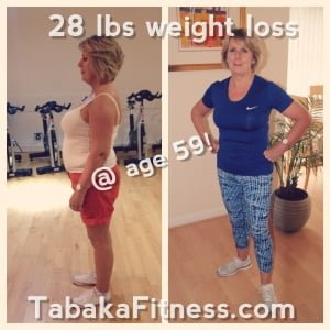 June (age 59) smashing 28 lbs weight loss