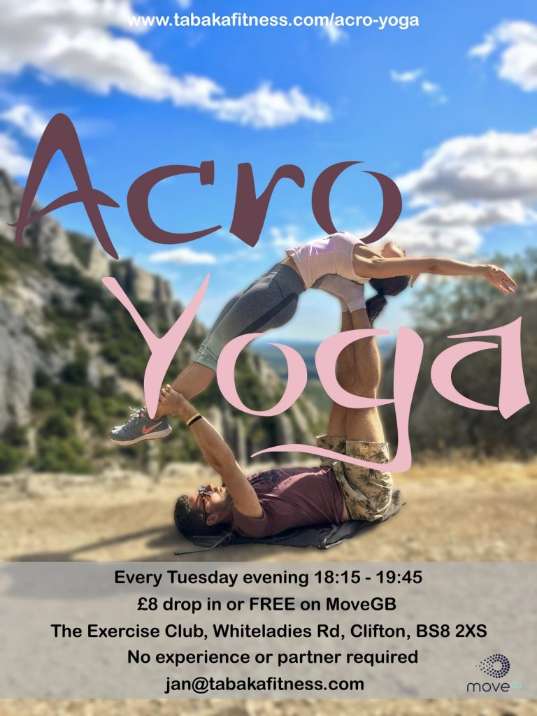 Acroyoga with Shell & Jan, Bristol