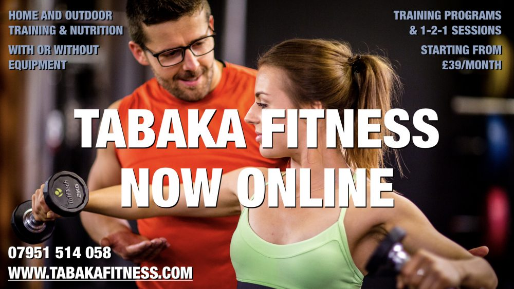 Tabaka Fitness Personal Training & Nutrition Online